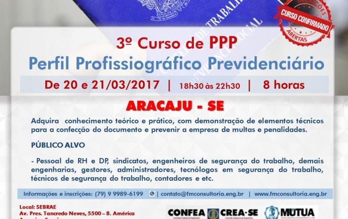 3º Curso de PPP Perfil Profissiográfico Previdenciário aracaju